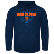 Chicago Bears Pick Six Pullover Hoodie - Navy