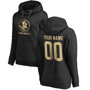 Florida State Seminoles Fanatics Branded Women's Personalized One Color Pullover Hoodie - Black