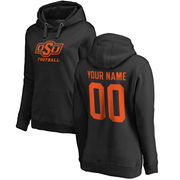Oklahoma State Cowboys Fanatics Branded Women's Personalized One Color Pullover Hoodie - Black