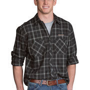 Rensselaer Polytechnic Institute Engineers Brewer Flannel Long Sleeve Shirt - Charcoal
