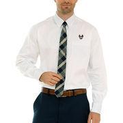 Indiana University of Pennsylvania Crimson Hawks Wicked Woven Button-Down Long Sleeve Shirt - White