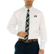 Northern Kentucky University Norse Wicked Woven Button-Down Long Sleeve Shirt - White