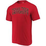 Texas Tech Red Raiders Alta Gracia (Fair Trade) Arched Wordmark T-Shirt - Red