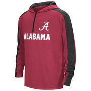 Alabama Crimson Tide Colosseum Youth Hotshot Quarter-Zip Windshirt Hoodie - Crimson
