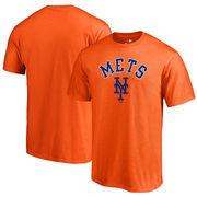 New York Mets Fanatics Branded Door Arch Big & Tall T-Shirt – Orange