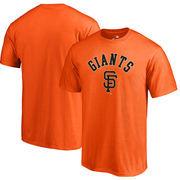 San Francisco Giants Fanatics Branded DoorArch Big & Tall T-Shirt – Orange