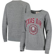 Texas A&M Aggies Pressbox Women's Edith Vintage Knobi Pullover Sweatshirt – Heathered Gray