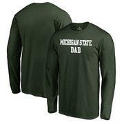 Michigan State Spartans Fanatics Branded Team Dad Long Sleeve T-Shirt - Green