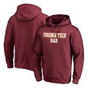 Virginia Tech Hokies Fanatics Branded Team Dad Pullover Hoodie - Maroon