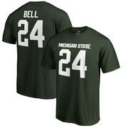 Le'Veon Bell Michigan State Spartans Fanatics Branded College Legends Name & Number T-Shirt - Green