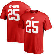 Melvin Gordon Wisconsin Badgers Fanatics Branded Youth College Legends T-Shirt - Red