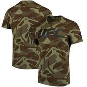 UFC Reebok Fan Gear Camo S/S Tee - Green