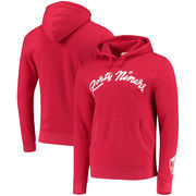 San Francisco 49ers Mitchell & Ness Old Script Pullover Hoodie - Scarlet