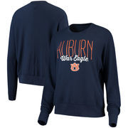 Auburn Tigers Alta Gracia (Fair Trade) Women's Ann Cozy Brushed Hacci Tri-Blend Sweatshirt - Navy
