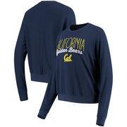 Cal Bears Alta Gracia (Fair Trade) Women's Ann Cozy Brushed Hacci Tri-Blend Sweatshirt - Navy