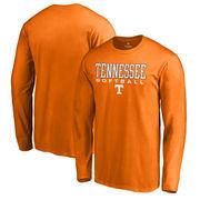 Tennessee Volunteers Fanatics Branded True Sport Softball Long Sleeve T-Shirt - Tennessee Orange