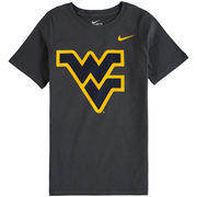 West Virginia Mountaineers Nike Youth Cotton Logo T-Shirt - Anthracite