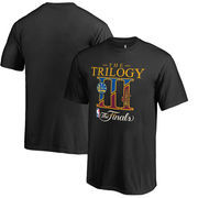 Golden State Warriors vs. Cleveland Cavaliers Fanatics Branded Youth 2017 NBA Finals Bound Dueling Trilogy T-Shirt - Black