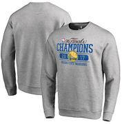 Golden State Warriors Fanatics Branded 2017 NBA Finals Champions Flex Fleece Sweatshirt - Heathered Gray
