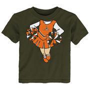 Cleveland Browns Girls Toddler Cheerleader Dreams T-Shirt - Brown