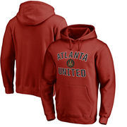Atlanta United FC Fanatics Branded Victory Arch Pullover Hoodie - Cardinal