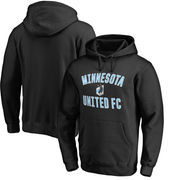 Minnesota United FC Fanatics Branded Victory Arch Pullover Hoodie - Black