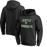 Seattle Sounders FC Fanatics Branded Victory Arch Pullover Hoodie - Black