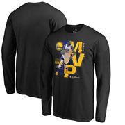 Kevin Durant Golden State Warriors Fanatics Branded 2017 NBA Finals MVP Long Sleeve T-Shirt - Black