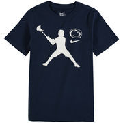 Penn State Nittany Lions Nike Youth Lacrosse Player T-Shirt – Navy