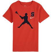 Syracuse Orange Nike Youth Lacrosse Player T-Shirt – Orange