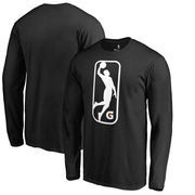 NBA G League Fanatics Branded Primary Logo Long Sleeve T-Shirt - Black