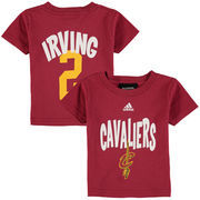 Cleveland Cavaliers adidas Infant Infant Name & Number T-Shirt - Wine