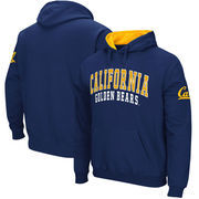 Cal Bears Team Name Double Arches Pullover Hoodie - Navy