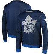 Toronto Maple Leafs Static Rain Printed Sweatshirt - Blue