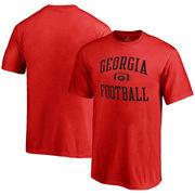 Georgia Bulldogs Fanatics Branded Youth Neutral Zone T-Shirt - Red