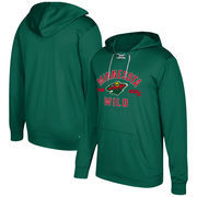 Minnesota Wild adidas Misconduct Performance Fleece Hooded Sweatshirt – Green