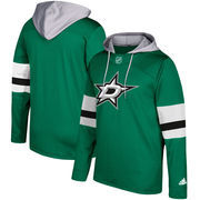 Dallas Stars adidas Silver Jersey Pullover Hoodie - Kelly Green