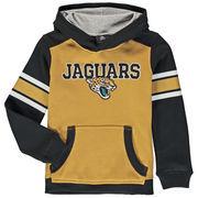 Jacksonville Jaguars Youth Allegiance Pullover Hoodie - Gold/Black
