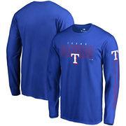 Texas Rangers Fanatics Branded Front Line Long Sleeve T-Shirt - Royal