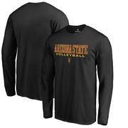 Arizona State Sun Devils Fanatics Branded True Sport Volleyball Long Sleeve T-Shirt - Black
