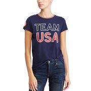 Team USA Polo Ralph Lauren Women's 2018 Winter Olympics T-Shirt – Navy