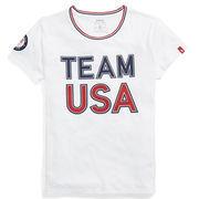 Team USA Polo Ralph Lauren Women's 2018 Winter Olympics T-Shirt – White