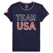 Team USA Polo Ralph Lauren 2018 Winter Olympics T-Shirt – Navy