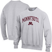 Minnesota Golden Gophers Champion Reverse Weave Crewneck Sweatshirt – Gray