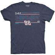 Dale Earnhardt Jr. Hendrick Motorsports Team Collection 2017 Darlington Vintage T-Shirt - Heathered Blue
