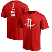 Chris Paul Houston Rockets Fanatics Branded Backer Name & Number T-Shirt - Red