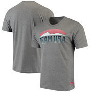 Team USA Horizon Tri-Blend T-Shirt - Gray