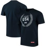Team USA Olympic Wreath T-Shirt – Navy