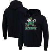 Notre Dame Fighting Irish Champion Lacrosse Drop Poweblend Pullover Hoodie – Navy