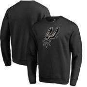 San Antonio Spurs Fanatics Branded Midnight Mascot Pullover Sweatshirt - Black